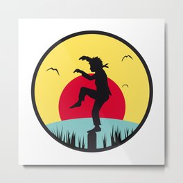 Karate Kid Metal Print