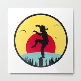 Karate Kid Metal Print