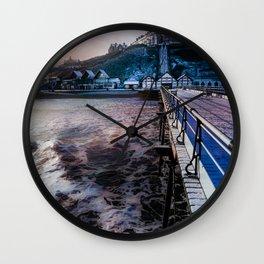 Snowey Saltburn Wall Clock
