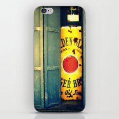 Volcano doors iPhone & iPod Skin