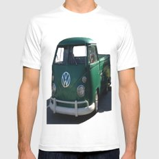 VW GRUNGE 2X-LARGE White Mens Fitted Tee