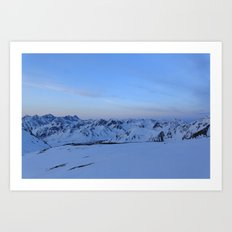 Glen Alps 2 Art Print