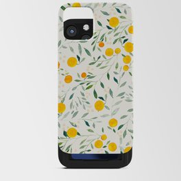 Oranges and Leaves iPhone Card Case