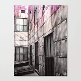 Lost in Time, Commodore Hotel Canvas Print