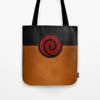 naruto Tote Bags featuring NARUTO by September 9