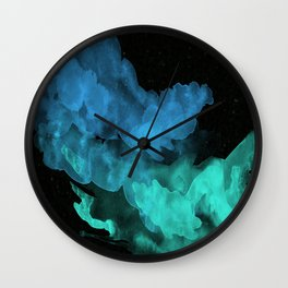 Pigment Decomposed Wall Clock