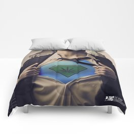 THC Super CannaMan Comforters
