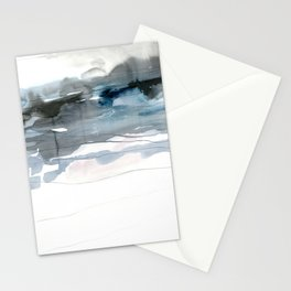 dissolving blues 2 Stationery Cards
