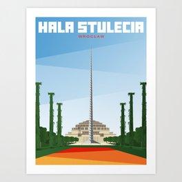 Hala Stulecia | Centennial Hall | Wrocław Art Print