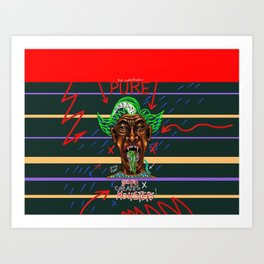 Pure Dope Creates Monsters Art Print