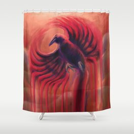 The Flight Shower Curtain