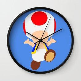 Toad (Super Mario) Wall Clock