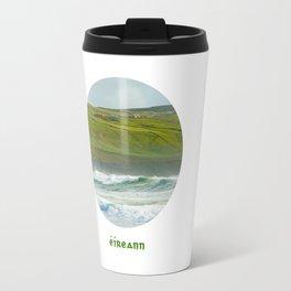 Ireland written in Gaelic - Eireann Travel Mug