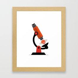 Microcosmos - macrocosmos Framed Art Print