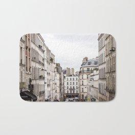 Montmartre View of Paris  Bath Mat