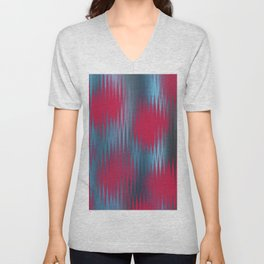 Abstract 582 Unisex V-Neck