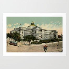 Library of Congress Washington DC 1900s Art Print