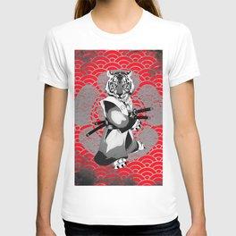 Tiger Samurai T-shirt