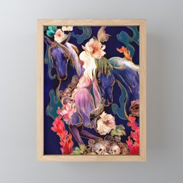 Origin Myth Framed Mini Art Print