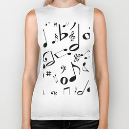 Music in the Air Biker Tank