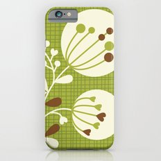 Retro Lime Bouquet Slim Case iPhone 6s