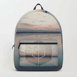 Tranquil Landscape Geometry Backpack