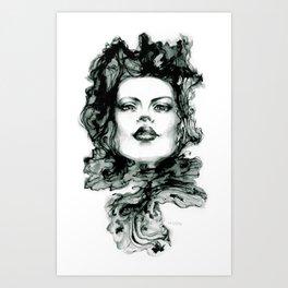 Muon Art Print