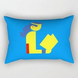 Wonder Lady Reading Rectangular Pillow