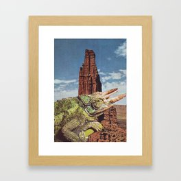 Collage #16 Framed Art Print