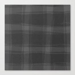 Nifty Shades of Grey Canvas Print