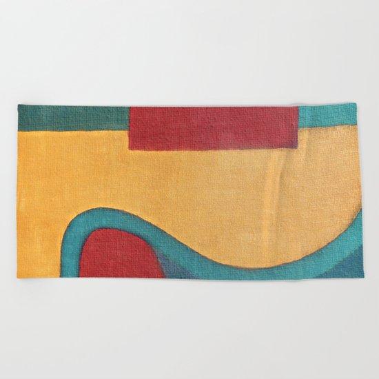 Sandy Path Beach Towel