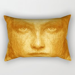 Gypsy girl Rectangular Pillow