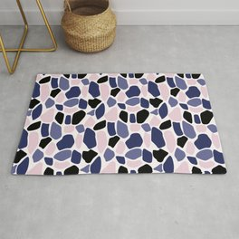 Colored stones samless pattern Rug