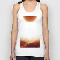 bruno mars Tank Tops featuring Mars Diving by Stoian Hitrov - Sto