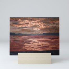 Petrified Wood Mini Art Print
