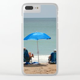 Tranquility At The Beach Clear iPhone Case