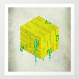 Cubic Art Print