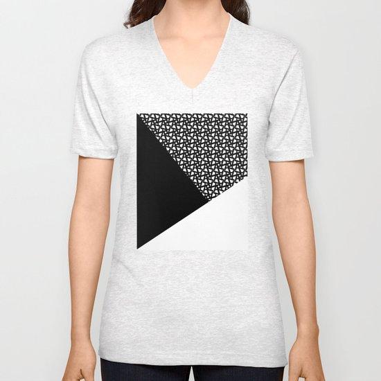 A_pattern Unisex V-Neck