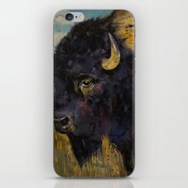 Bison iPhone Skin