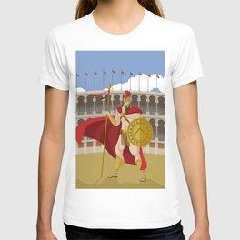 great spartan gladiator T-shirt
