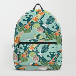 Sushi take-out! Backpack