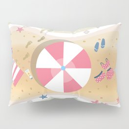 Summer Paradise Pillow Sham