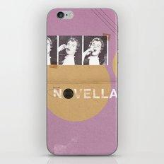 Novella series iPhone Skin