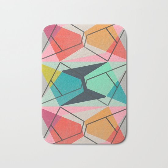 ColorBlock III Bath Mat