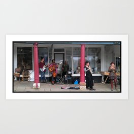 Street Ragtime Jazz Art Print