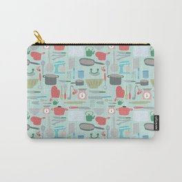 Kitchen Pattern Carry-All Pouch
