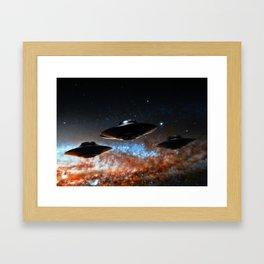 Flight of the Intruders Framed Art Print