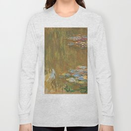 Water Lilies by Claude Monet Long Sleeve T-shirt