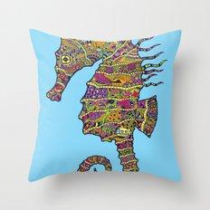 The Z Horse Throw Pillow