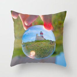 The Southernmost Point of Africa Throw Pillow
